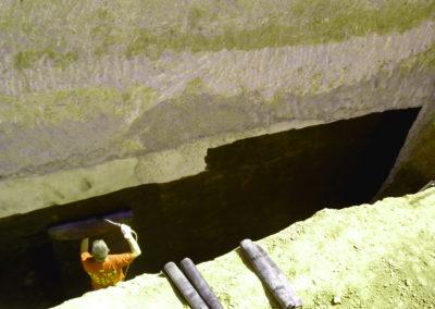 Impermeabilización de muros de garaje en Guadalajara