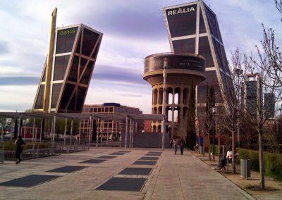 Canal Isabel II en Plaza Castilla