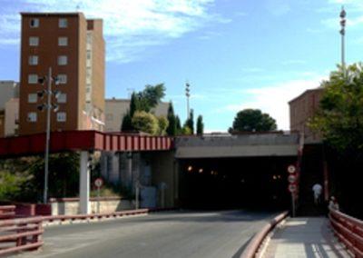 Impermeabilización del túnel en Guadalajara